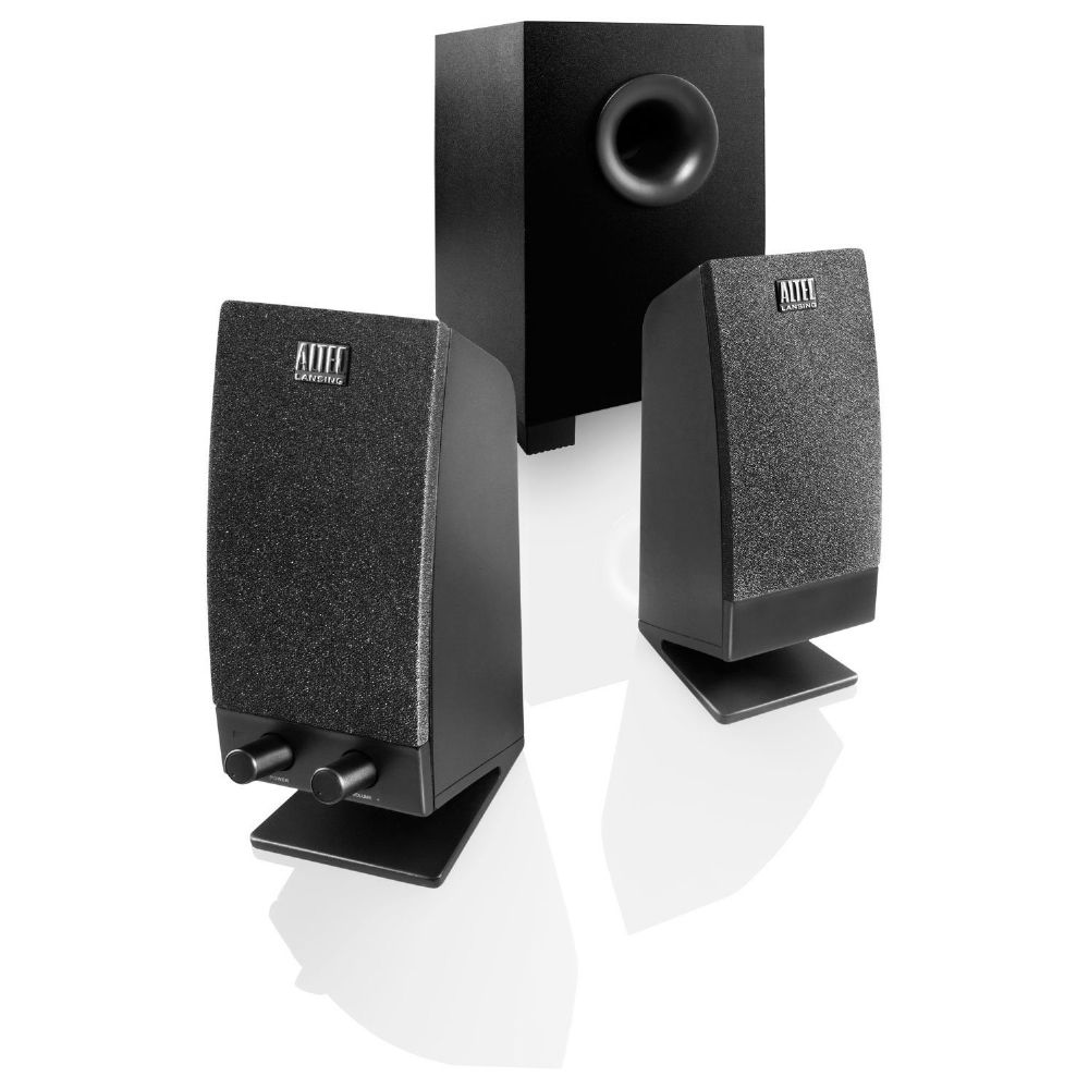 altec lansing bxr1321 stereo computer speakers with subwoofer